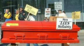 Here LIES McGuinty
